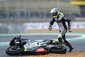 Tito Rabat, Avintia Racing after crash