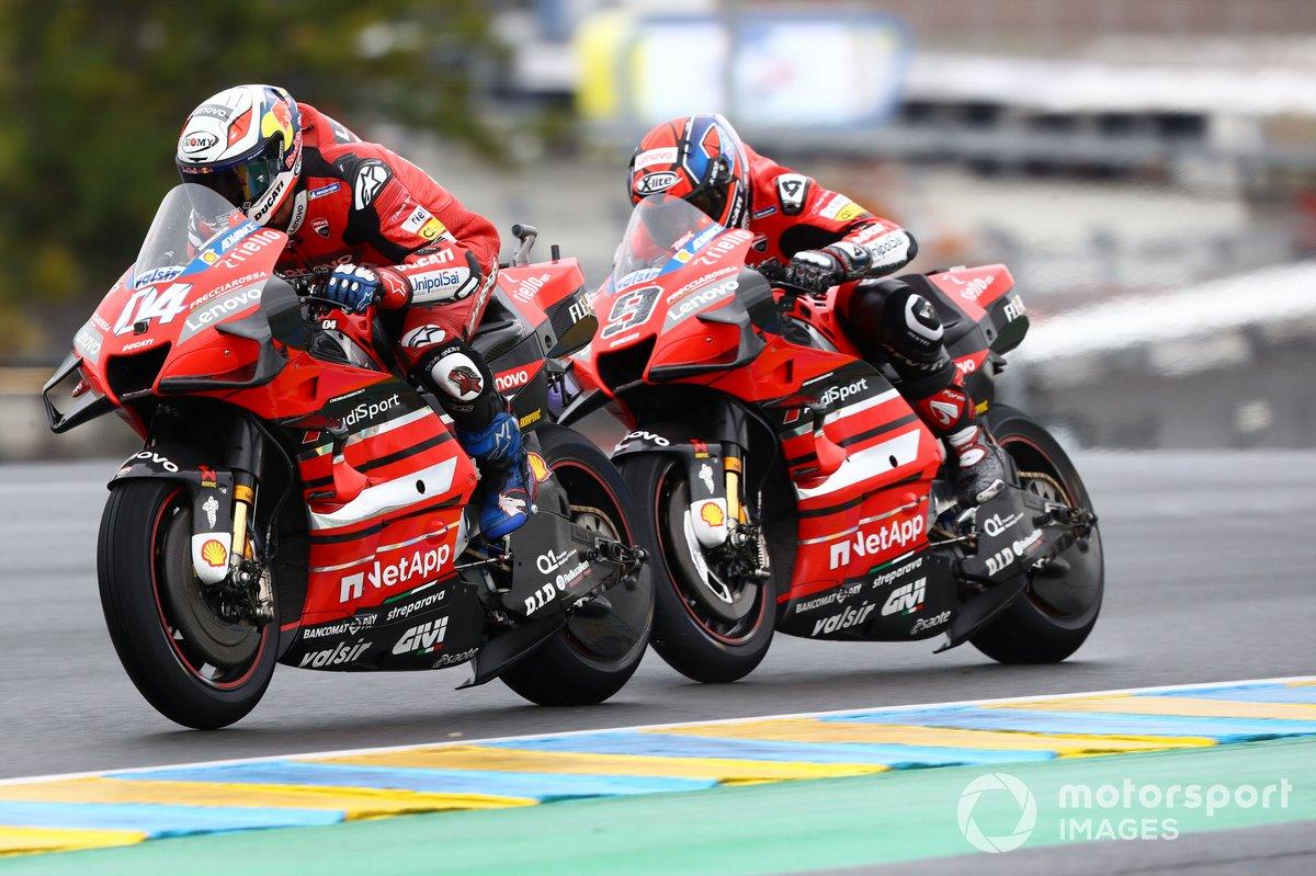 Andrea Dovizioso, Ducati Team Danilo Petrucci, Ducati Team