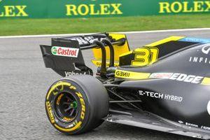 Rear wing of Esteban Ocon, Renault F1 Team R.S.20