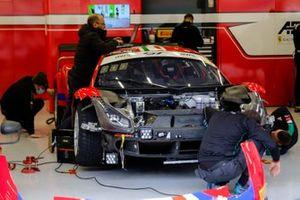 #52 AF Corse Ferrari 488 GT3: Niek Hommerson, Louis Machiels, Andrea Bertolini, Daniel Serra