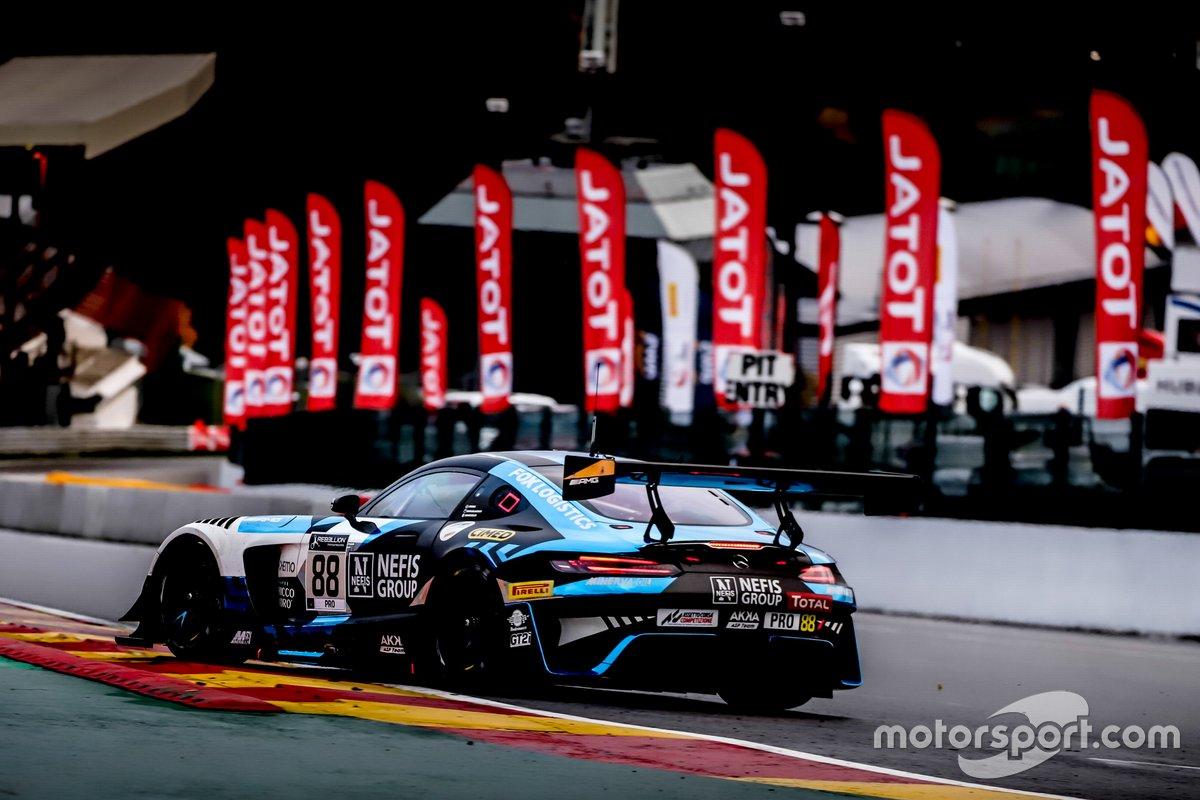 #88 Mercedes-AMG Team AKKA ASP Mercedes-AMG GT3: Raffaele Marciello, Timur Boguslavskiy, Felipe Fraga
