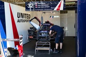 #32 United Autosports - ORECA 07 - Gibson: Alex Brundle, Will Owen, Job Van Uitert