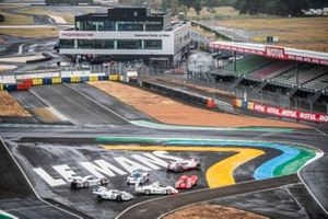 Le sei Porsche vincitrici: Porsche 1971 917 KH, Porsche 1981 936/81 Spyder, Porsche 1970 917 KH, Porsche 1998 911 GT1, Porsche 1987 962 C, Porsche 2017 919 Hybrid