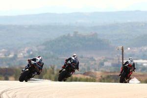 Loris Baz, Ten Kate Racing Yamaha, Michael van Der Mark, Pata Yamaha