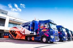 Red Bull KTM Tech3 trucks