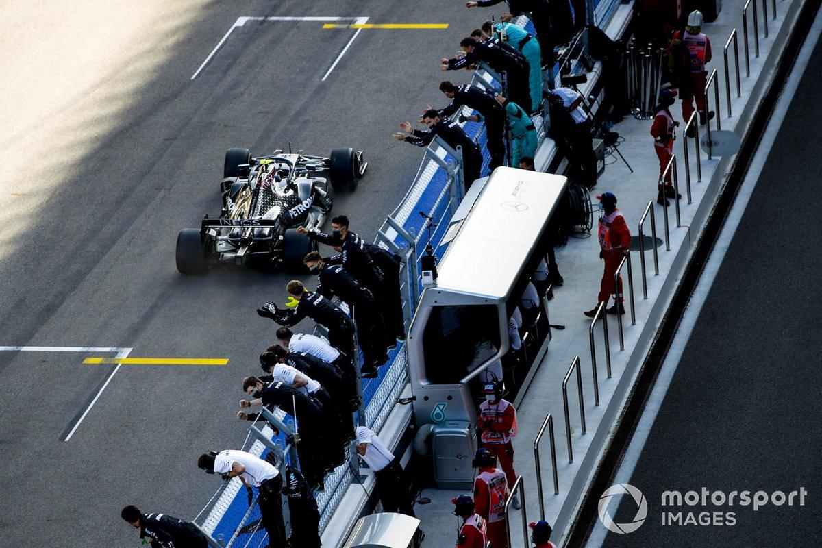 Russie - Vainqueur : Valtteri Bottas (Mercedes)