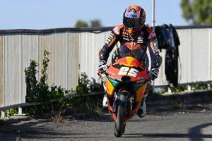 Raul Fernandez, Red Bull KTM Ajo, after crash