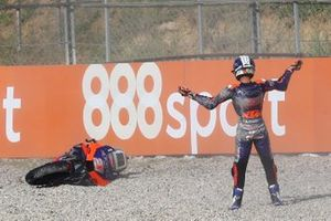 Iker Lecuona, Red Bull KTM Tech 3 after crash