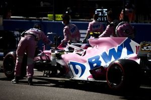 Lance Stroll, Racing Point RP20 on the grid