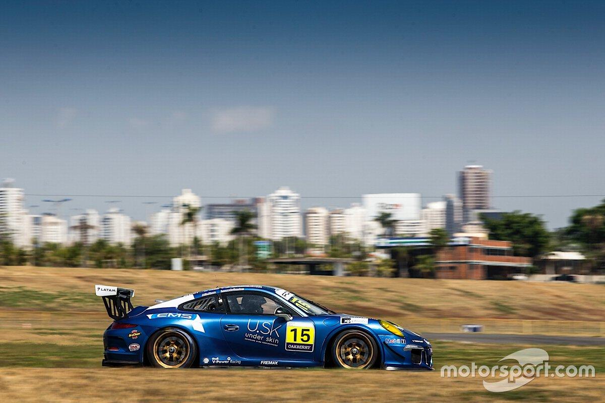 Átila Abreu e Léo Sanchez na Porsche Endurance Series