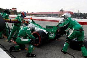 Colton Herta, Andretti Harding Steinbrenner Autosport Honda, pit stop