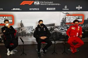 Cyril Abiteboul, Renault F1 Team, Toto Wolff, Mercedes AMG, Mattia Binotto, Ferrari