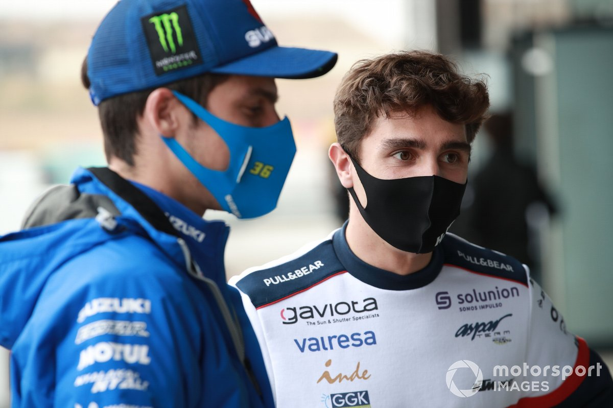 Joan Mir, Team Suzuki MotoGP, Albert Arenas, Aspar Team