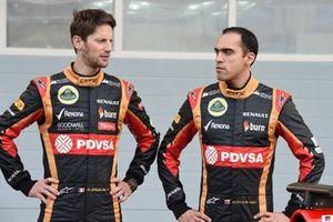 Romain Grosjean, Pastor Maldonado, Lotus F1 Team