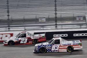 Tim Viens, CMI Motorsports, Chevrolet Silverado Brett Moffitt, GMS Racing, Chevrolet Silverado Superior Essex