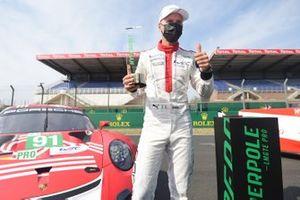LMGTE Pro pole sitter #91 Porsche GT Team Porsche 911 RSR: Gianmaria Bruni