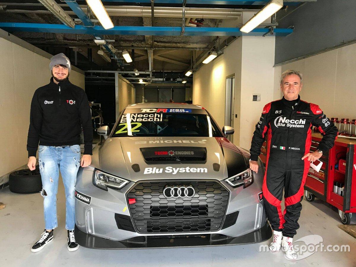 Edoardo Necchi, Piero Necchi, Tecniengines, Audi RS 3 LMS TCR