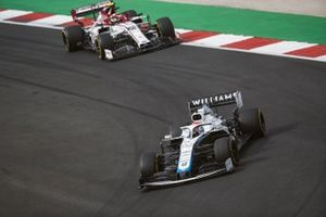 George Russell, Williams FW43, Antonio Giovinazzi, Alfa Romeo Racing C39