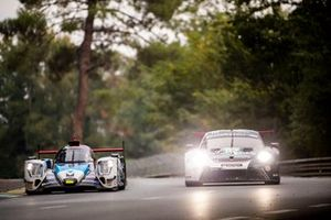 #92 Porsche GT Team Porsche 911 RSR: Michael Christensen, Kevin Estre, Laurens Vanthoor, #24 Nielsen Racing Oreca 07 - Gibson: Garret Grist, Alex Kapadia, Anthony Wells