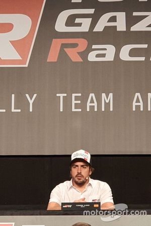 Fernando Alonso, Toyota Gazoo Racing, Dakar press conference