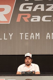 Fernando Alonso, Toyota Gazoo Racing alla presentazione Dakar