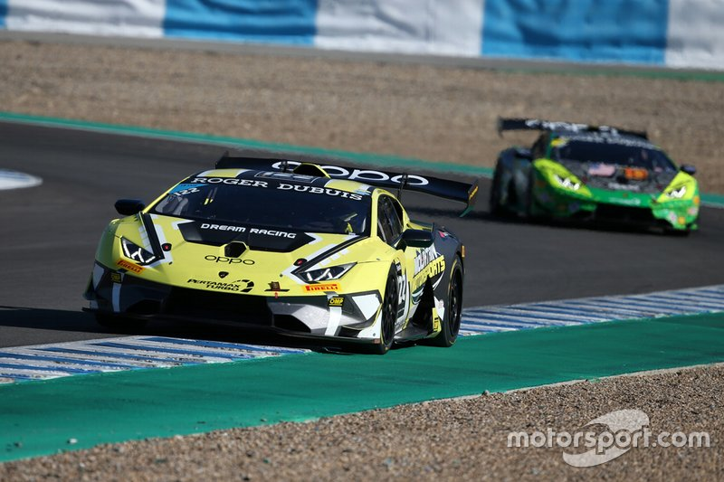 #122 Huracan Super Trofeo Evo, Dream Racing Motorsport: Justin Price, Chad Reed