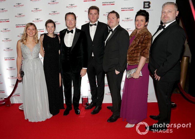 Ospiti presenti all'Autosport Awards