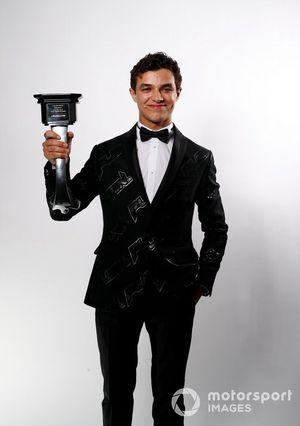 Победитель в номинации «Британский гонщик года» Ландо Норрис, McLaren