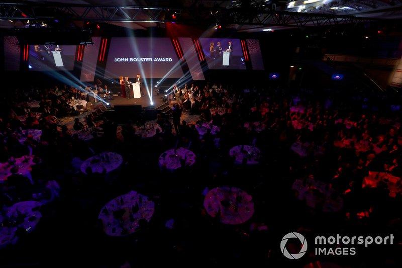 Martin Brundle presents the John Bolster award