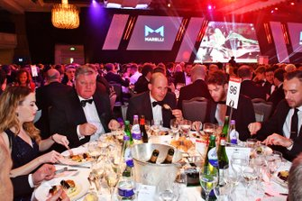 Guests at their tables including Tim Wright of LAT