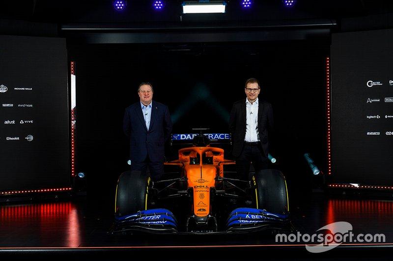Zak Brown, Executive Director, McLaren e Andreas Seidl, Team Principal, McLaren