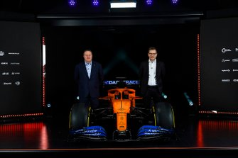 Zak Brown, Executive Director, McLaren and Andreas Seidl, Team Principal, McLaren