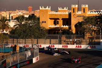 Pascal Wehrlein, Mahindra Racing, M6Electro Edoardo Mortara, Venturi, EQ Silver Arrow 01, Maximilian Gunther, BMW I Andretti Motorsports, BMW iFE.20