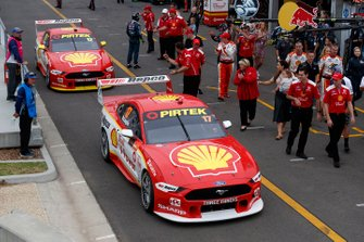 Scott McLaughlin, DJR Team Penske Ford, Fabian Coulthard, DJR Team Penske Ford