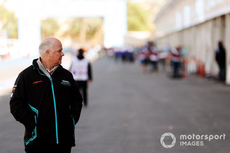 Craig Wilson, director de competición de Panasonic Jaguar Racing