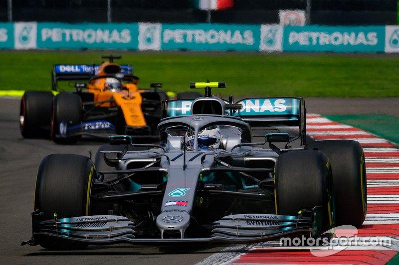 Valtteri Bottas, Mercedes AMG F1 ,Carlos Sainz Jr., McLaren MCL34