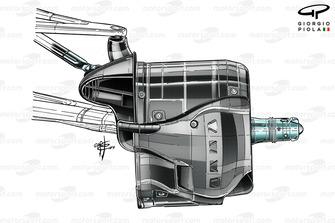Передние тормоза Mercedes AMG F1 W10