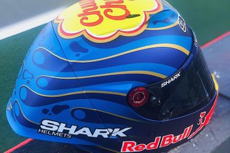 First helmet of Jorge Lorenzo, Repsol Honda Team