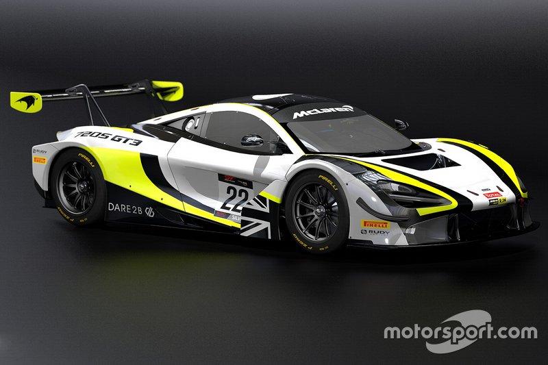 Jenson Team Rocket RJN McLaren 720S GT3