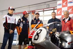 Такааки Накагами, LCR Honda Idemitsu, Марк Маркес, Repsol Honda Team, Хорхе Лоренсо, Repsol Honda Team, Кунимицу Такахаси и Джим Редман