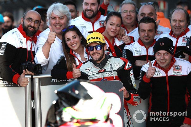 Third place Stefano Manzi, Forward Racing
