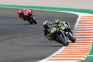 Valentino Rossi, Yamaha Factory Racing, Cal Crutchlow, Team LCR Honda, Danilo Petrucci, Ducati Team