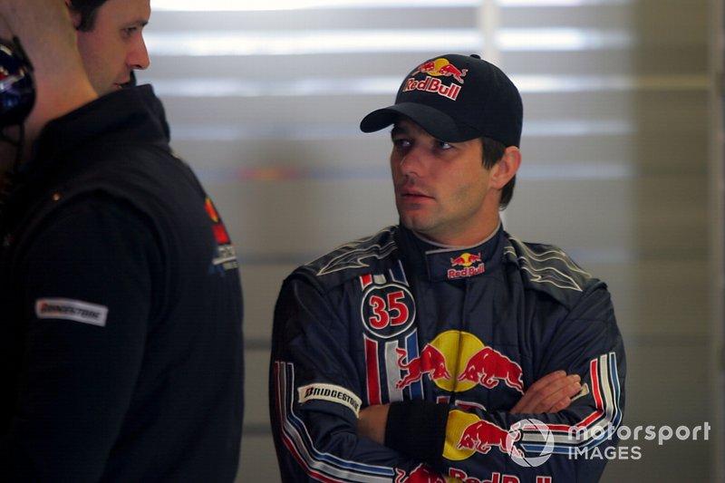 Test di Sebastien Loeb, Campione del mondo di Rally, per Red Bull Racing