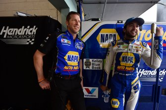 Chase Elliott, Hendrick Motorsports, Chevrolet Camaro NAPA AUTO PARTS and Alan Gustafson
