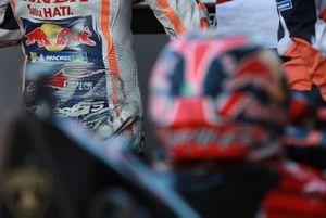 Marc Marquez, Repsol Honda Team leather detail