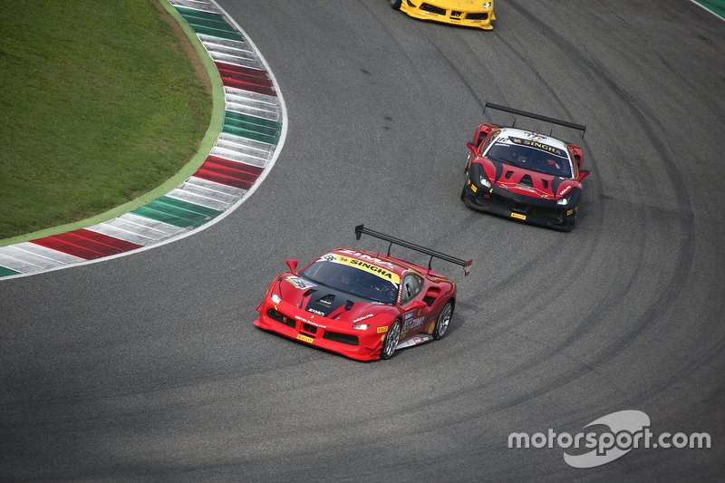 #136 Ferrari 488 Challenge, Scuderia Gohm: Alexander Nussbaumer