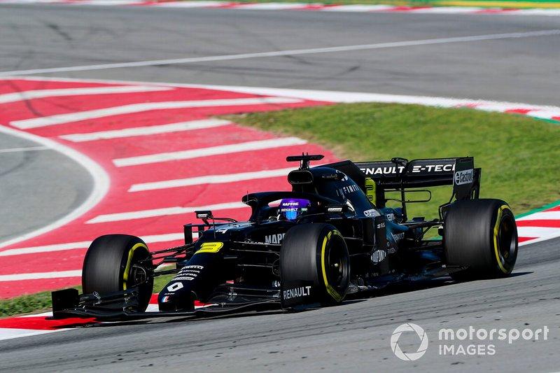 10º Daniel Ricciardo, Renault F1 Team R.S.20: 1:17.749 (con neumáticos C3)