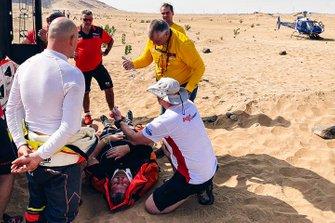 Accidente del #339 Ford: Martin Kolomy, Jiri Stross