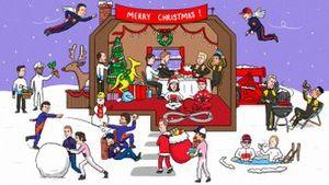 La felicitación de Navidad de la F1