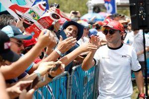 Felipe Massa, Venturi incontri i fan